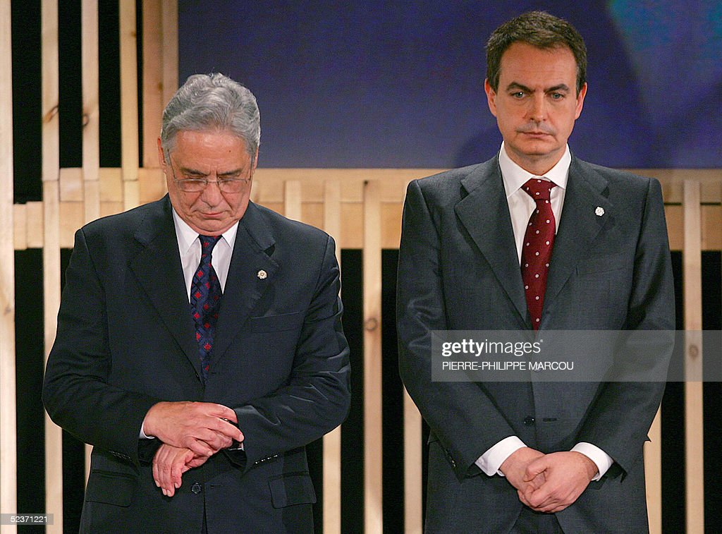 Spanish Prime Minister Jose Luis Rodrigu : News Photo