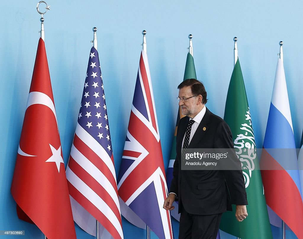 G20 Turkey Leaders Summit - Welcoming Ceremony : News Photo