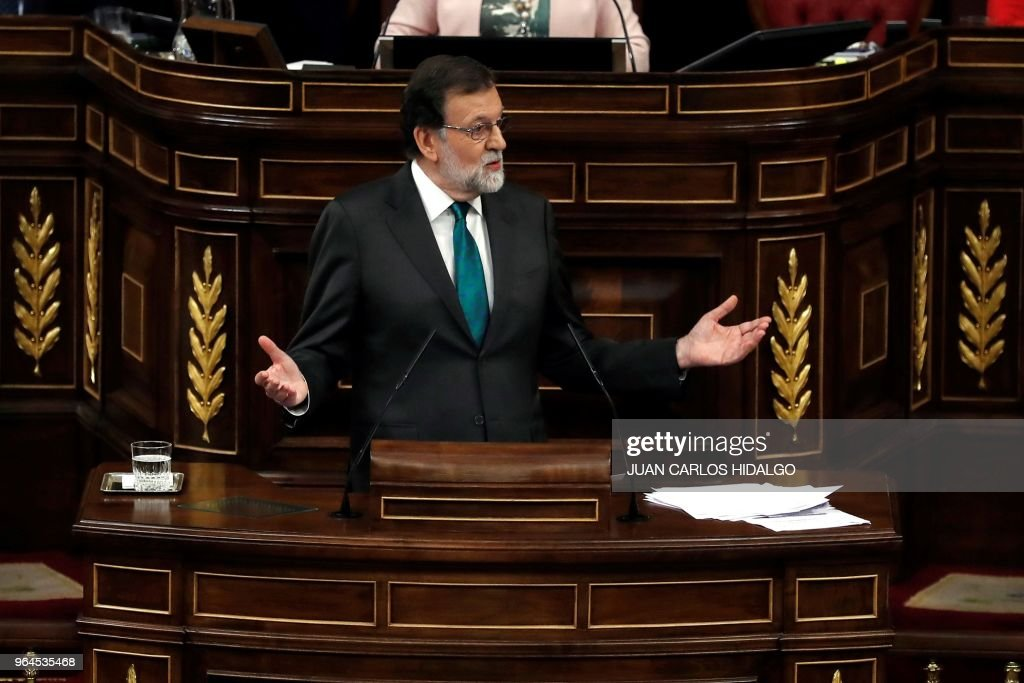 SPAIN-POLITICS-PARLIAMENT : News Photo