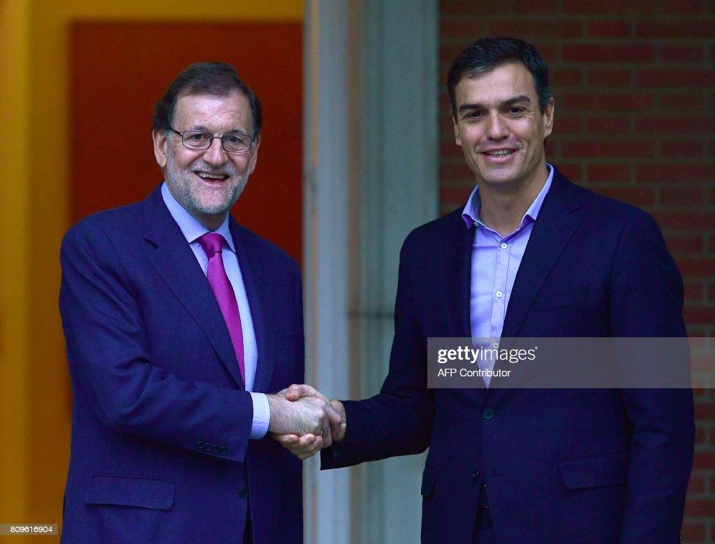 Image result for Pedro Sánchez , Mariano Rajoy, photos