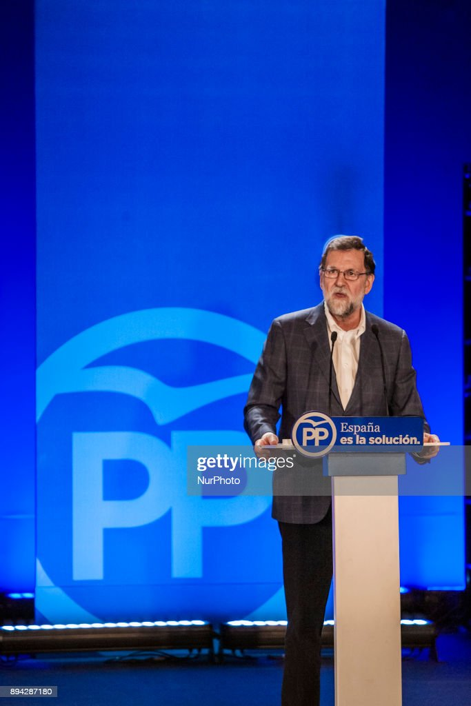 Rally of PP party in Salou