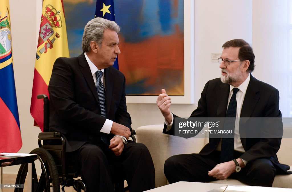 SPAIN-ECUADOR-DIPLOMACY-POLITICS : News Photo