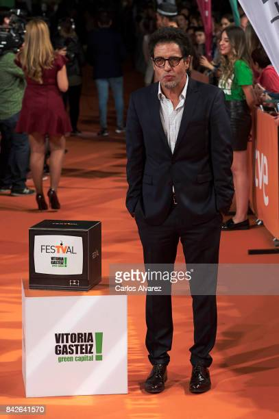 Spanish producer Daniel Ecija attends 'Estoy Vivo' premiere during the FesTVal 2017 at the Principal Teather on September 4 2017 in VitoriaGasteiz...