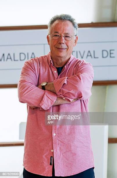 Spanish producer Lluis Minarro poses for a photocall after the screening of his film 'Vivir y otras ficciones' during the 64th San Sebastian Film...