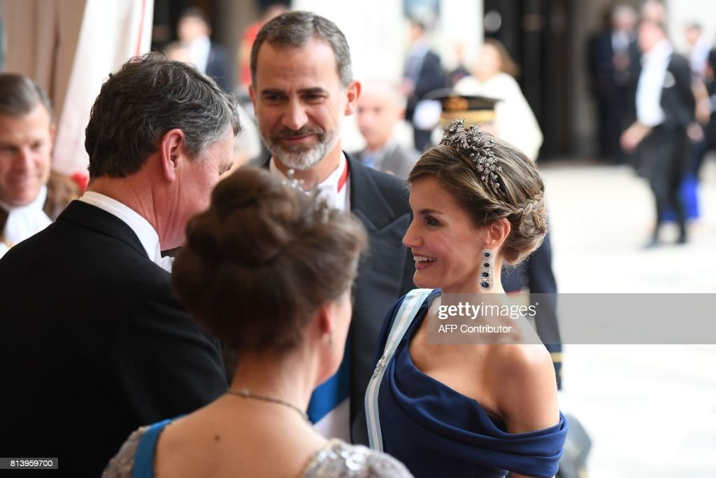 BRITAIN-SPAIN-ROYALS : News Photo
