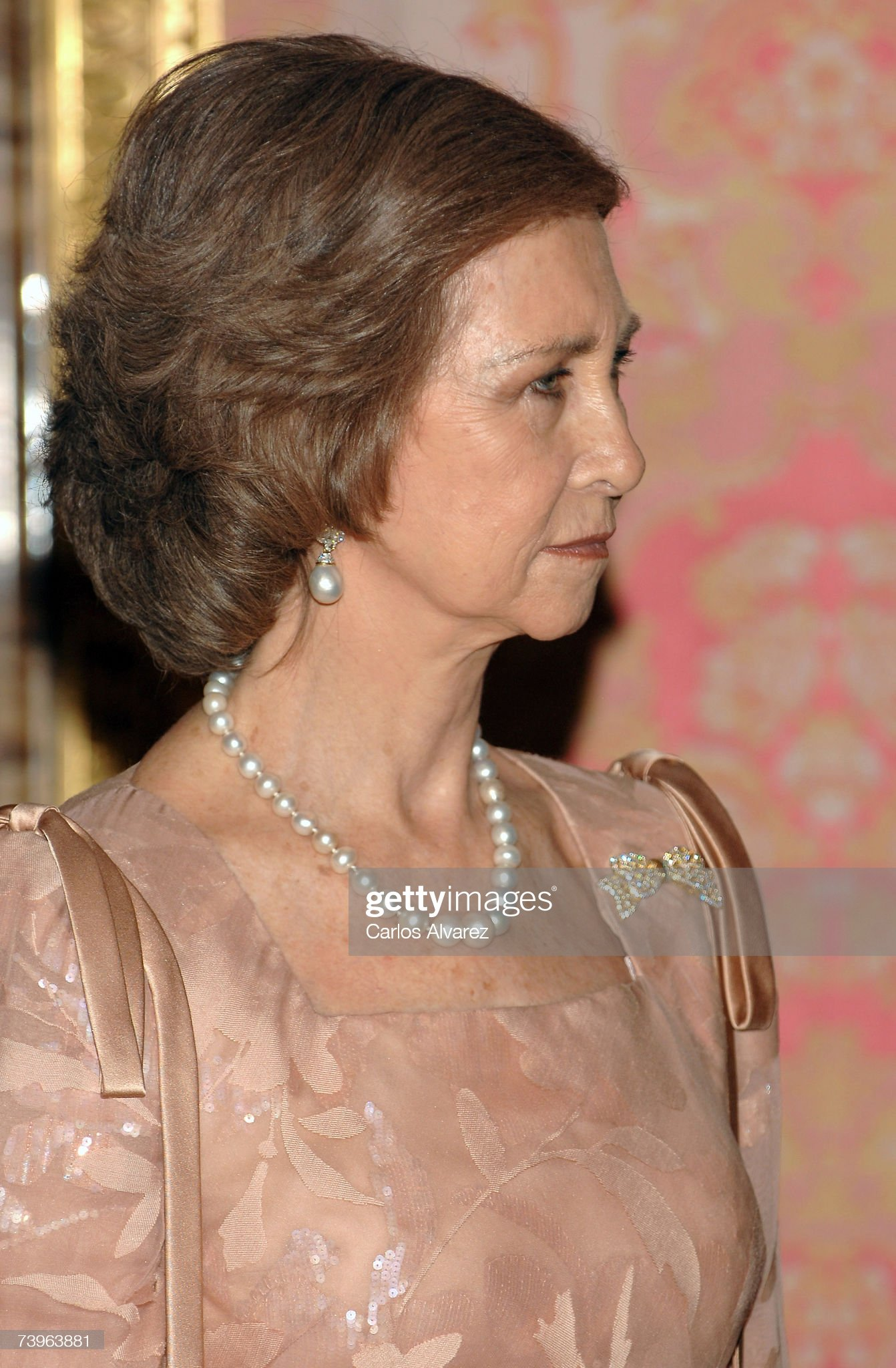 Spanish Royals Attend Gala Dinner For Pervez Musharraf : News Photo