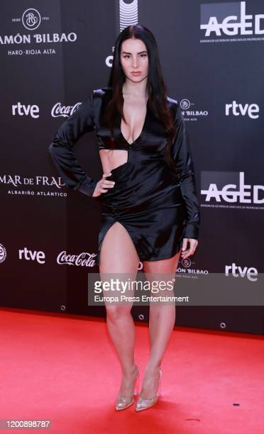 Spanish Rap singer La Mala Rodriguez attends Odeon Awards 2020 at Royal Theater on January 20, 2020 in Madrid, Spain.