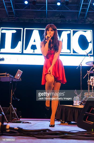 Spanish rapper Mala Rodriguez performs during the 13th Annual Latin Alternative Music Conference at Central Park SummerStage, New York, New York,...