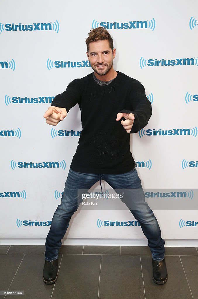 Spanish recording artist David Bisbal visits at SiriusXM Studio on October 19, 2016 in New York City.