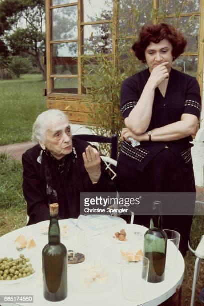 Spanish Republican leader of the Spanish Civil War and Communist politician of Basque origin Dolores Ibarruri known as La Pasionaria at home in...