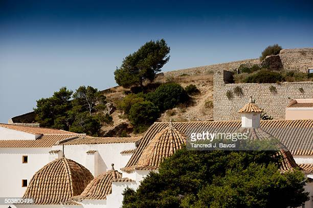 spanish rooftops - bavosi stock pictures, royalty-free photos & images