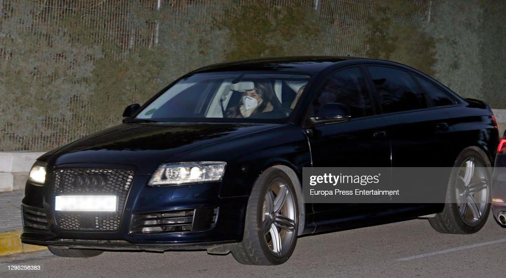 Spanish Royals Visit Queen Letizia's Father : News Photo