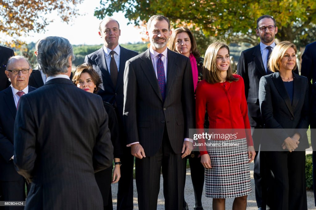 Spanish Royals Attend The Commemoration Of The First Expedition Of Fernando De Magallanes And Juan Sebastian Elcano : News Photo