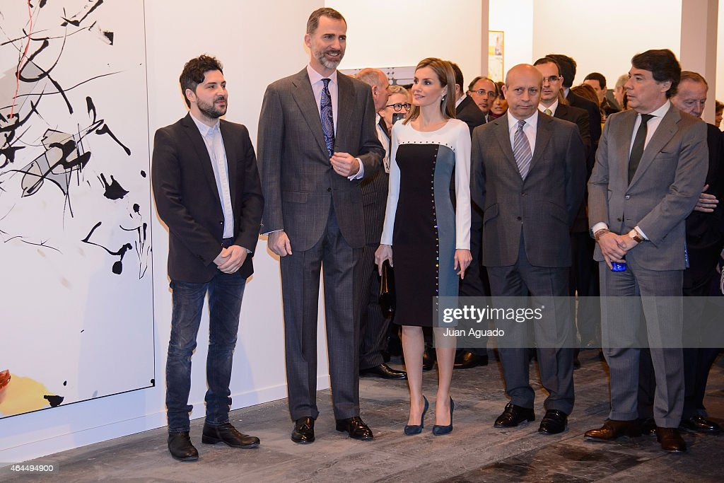Spanish Royals Attend the Opening of ARCO 2015 : News Photo