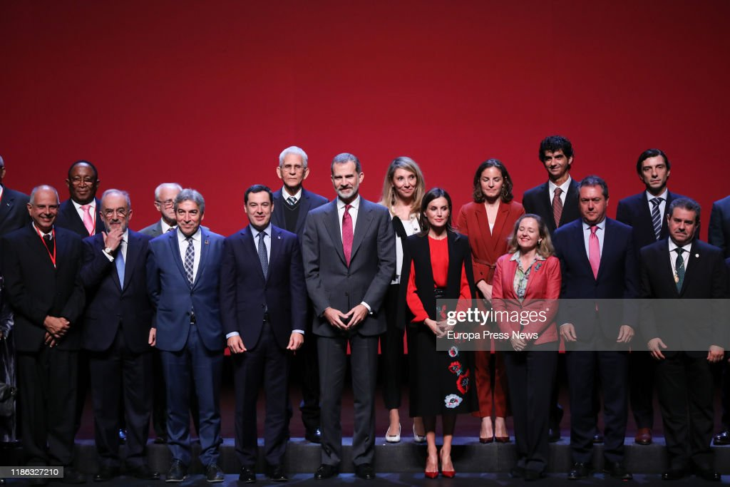 Spanish Royals Close XVI Congress Of The Association Of Academies Of The Spanish Language : News Photo