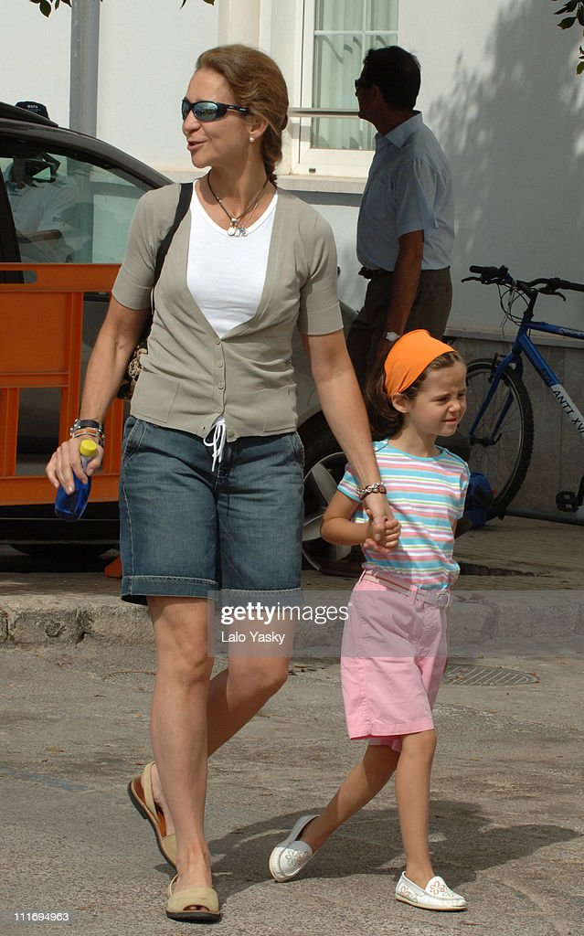 Spanish Royals Sighting in Palma de Mallorca - August 4, 2006