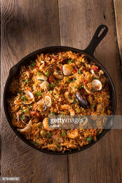 spanish seafood - chorizo stock pictures, royalty-free photos & images