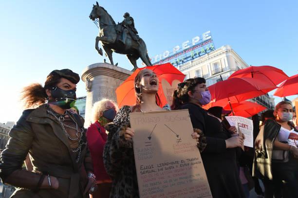 ESP: Spanish Sex Workers Protest Against Criminalisation