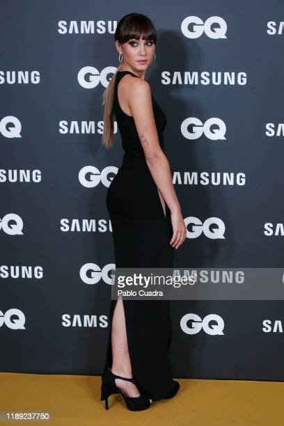 Spanish singer Aitana attends 'GQ Men Of The Year' awards 2019 at Westin Palace Hotel on November 21 2019 in Madrid Spain