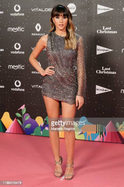 Spanish singer Aitana Ocaña aka Aitana attends 'Los40 music awards 2019' photocall at Wizink Center on November 08 2019 in Madrid Spain