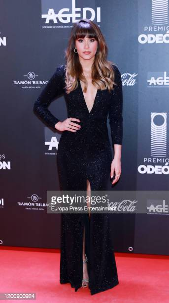 Spanish singer Aitana Ocaña attends Odeon Awards 2020 at Royal Theater on January 20 2020 in Madrid Spain