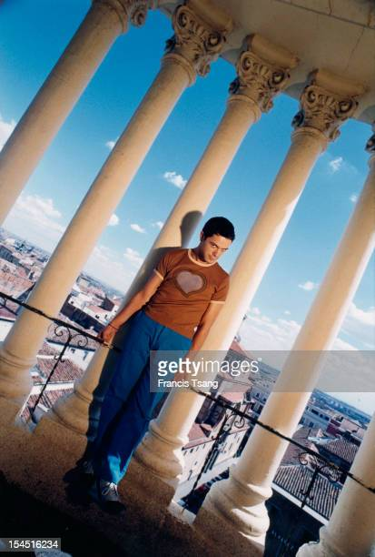 Spanish singer Alejandro Sanz at Madrid 1997