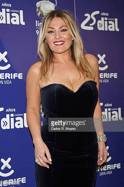 Spanish singer Amaia Montero attends the Cadena Dial Awards 2014 press room at the Recinto Ferial Auditorium on March 5 2015 in Tenerife Spain
