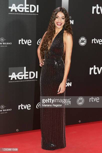 Spanish singer Ana Guerra attends Odeon Awards 2020 at Royal Theater on January 20 2020 in Madrid Spain