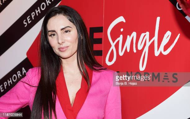 Spanish singer Ana Maria Rodriguez 'Mala Rodriguez' attends photocall of '#WeSingle' by Sephora on November 11, 2019 in Madrid, Spain.