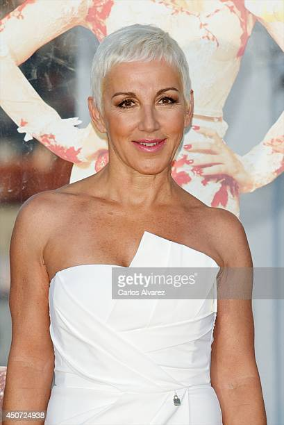 Spanish singer Ana Torroja attends Shangay Pride presentation party at ME Hotel on June 16 2014 in Madrid Spain