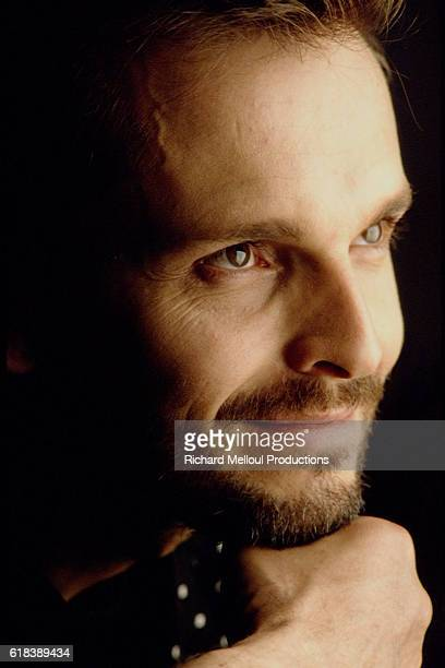 Spanish singer and actor Miguel Bose.