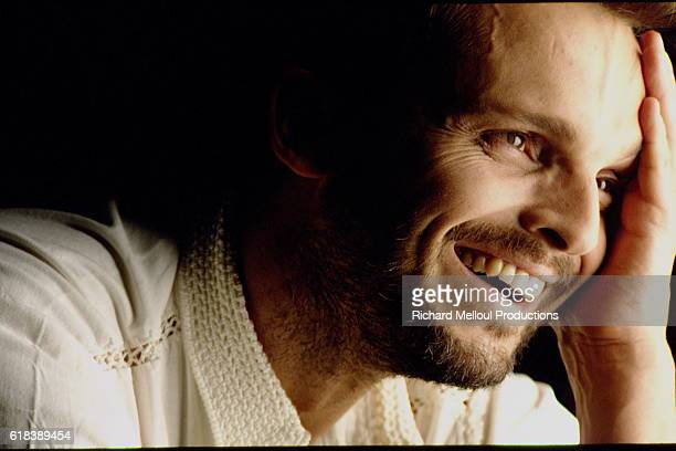 Spanish singer and actor Miguel Bose