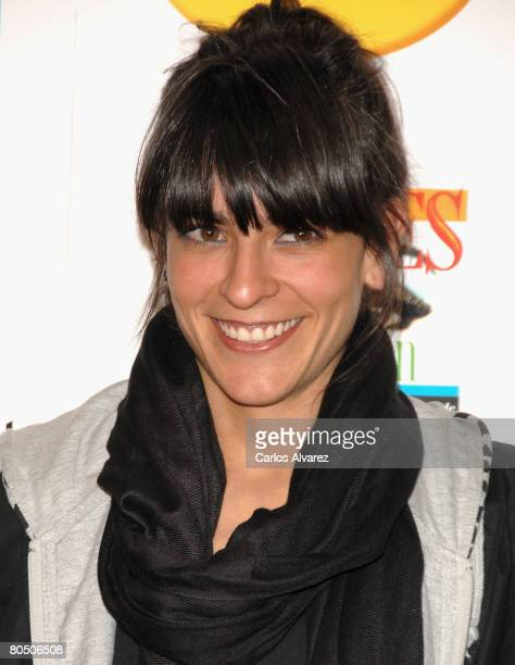 Spanish singer and actress Bebe attends Women on the Verge of a Nervous Breakdown 20th anniversary screening on April 03 2008 at Proyecciones cinema...