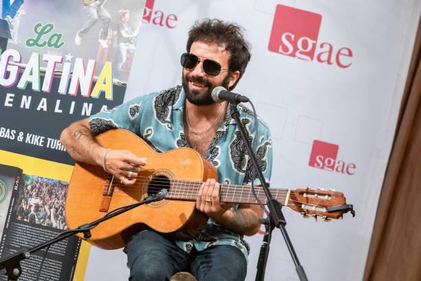 ESP: El Canijo De Jerez And 'La Pegatina' Accoustic Showcase In Madrid