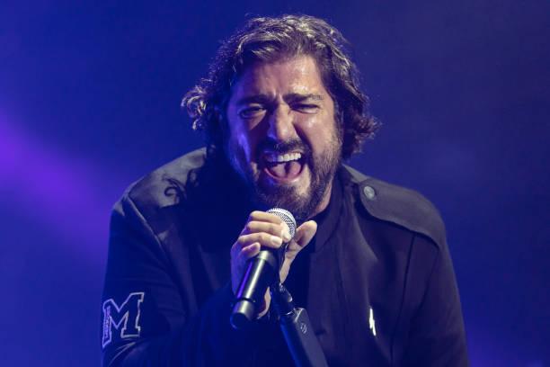ESP: Antonio Orozco Concert In Barcelona