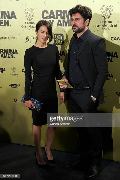 Spanish singer Bebe attends the 'Carmina y Amen' premiere at the Callao cinema on April 28 2014 in Madrid Spain