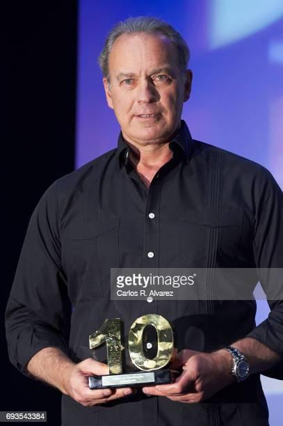 Spanish singer Bertin Osborne receives the 'Lifestyle' award 2017 at the Casa Encendida Cultural Center on June 7 2017 in Madrid Spain