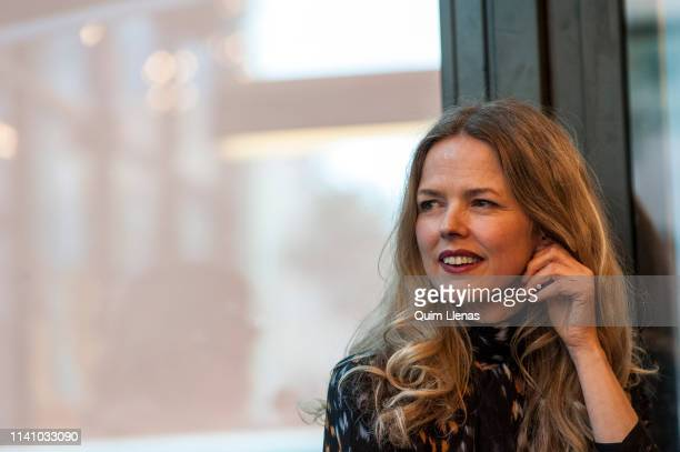 Spanish singer Christina Rosenvinge attends the presentation of her book Debut Cuadernos y canciones in which she goes through her more than...