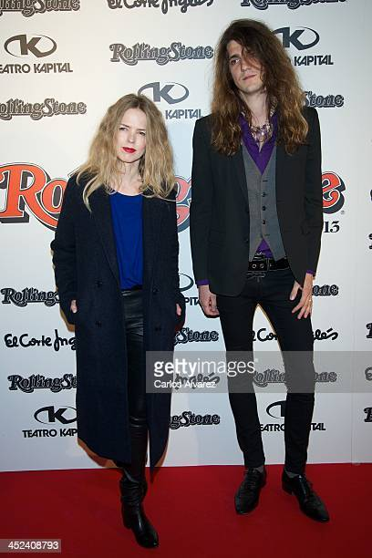 Spanish singer Christina Rosenvinge attends the Rolling Stone Magazine Awards 2013 at the Kapital Club on November 28 2013 in Madrid Spain