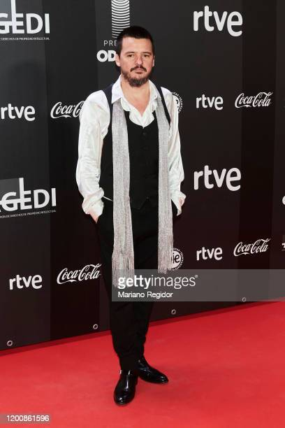 Spanish singer Coque Malla attends Odeon Awards 2020 at Royal Theater on January 20 2020 in Madrid Spain