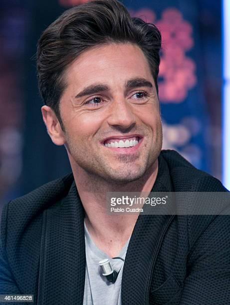 Spanish singer David Bustamante attends 'El Hormiguero' TV Show at 'Vertice' studios on January 13, 2015 in Madrid, Spain.