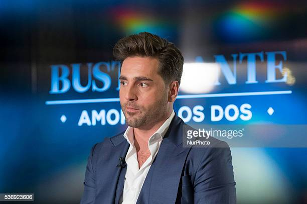 Spanish singer David Bustamante poses for photographers during the presentation of his new album 'Amor de los dos' in Madrid Spain 01 June 2016