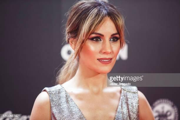 Spanish singer Edurne García aka Edurne attends the 1st Odeon Awards at Teatro Real on January 20 2020 in Madrid Spain