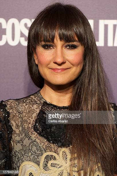 Spanish singer Eva Amaral attends Cosmopolitan Fun Fearless Female awards 2011 at the Ritz Hotel on October 3 2011 in Madrid Spain