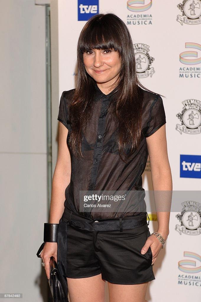 Spanish Music Awards : News Photo
