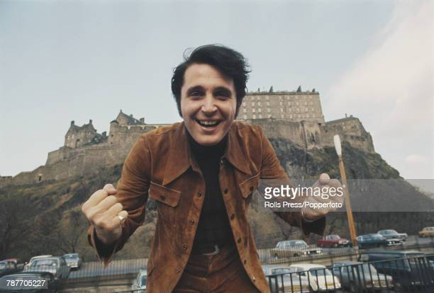 Spanish singer Jaime Morey in Princes Street Gardens prior to competing to finish in 10th place for Spain with the song 'Amanece' in the 1972...