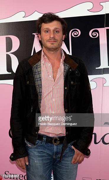 Spanish singer Juan Pena attends 'La Gran Depresion' premiere at Infanta Isabel Theatre on May 19 2011 in Madrid Spain