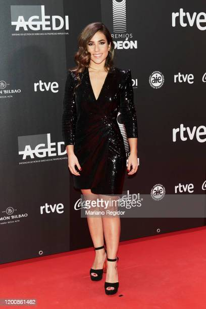 Spanish singer Julia Medina attends Odeon Awards 2020 at Royal Theater on January 20 2020 in Madrid Spain