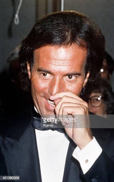 Spanish singer Julio Iglesias circa 1990