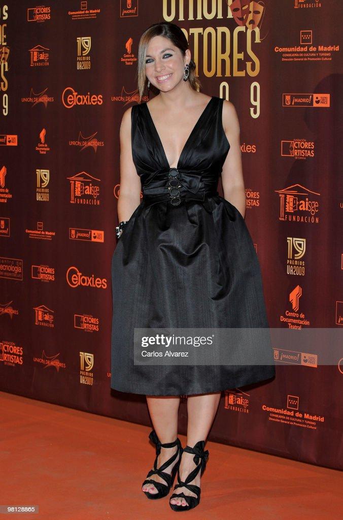 'Union de Actores' Awards 2010 in Madrid